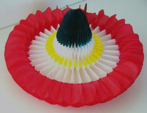 Mexsupplies-Sombrero Mexicano de Papel
